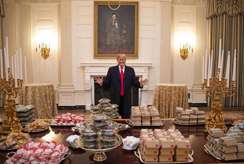 Donald Trump has great taste in food