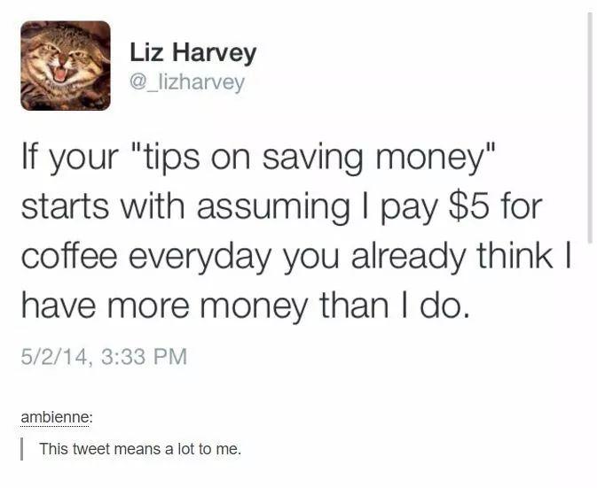 Bad money tips
